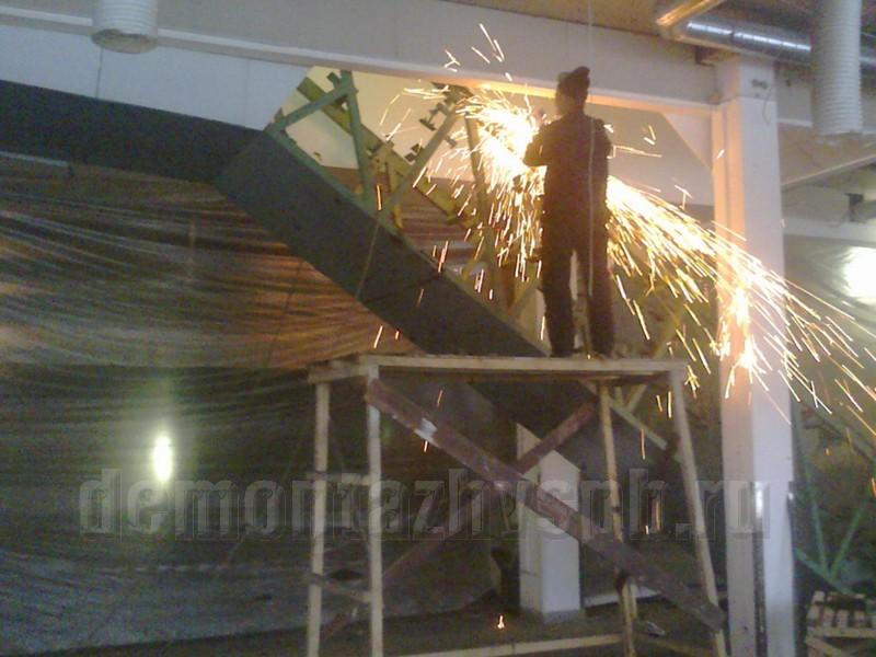 Сметная расценка на демонтаж металлоконструкций