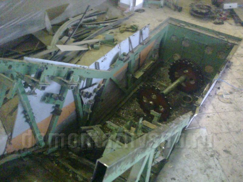 Демонтаж дымовой кирпичной трубы фер