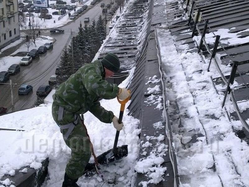 Нормы по очистке кровли от снега