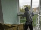 Демонтаж балконного блока в спб.